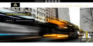 Urban Same Day Courier Web Design